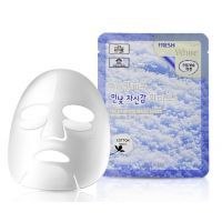Тканевая маска для лица с ниацинамидом 3W Clinic Fresh White Mask Sheet