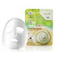Маска тканевая для лица с муцином улитки 3W Clinic Fresh Snail Mask Sheet