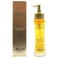 Эссенция жидкий коллаген с золотом 3W Clinic Collagen Luxury Gold Revitalizing Comfort Gold Essence