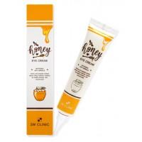 Питательный крем для глаз с экстрактом меда 3W Clinic Honey Eye Cream