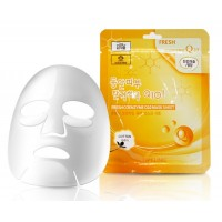 Тканевая маска для лица с коэнзимом Q10 3W Clinic Fresh Coenzyme Q10 Mask Sheet