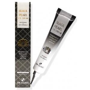 Крем для глаз с экстрактом черного жемчуга 3W Clinic Black Pearl Eye Cream
