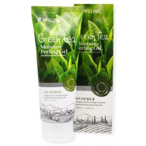 Пенка с экстрактом зеленого чая 3W Clinic Cleansing Foam Green Tea