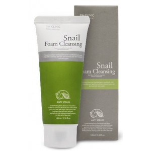 "Пенка для умывания ""Улиточный муцин"" 3W Clinic Snail Foam Cleansing"