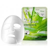 Маска тканевая для лица с экстрактом алоэ 3W Clinic Fresh Aloe Mask Sheet