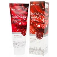 "Пенка для умывания ""Розовая вода"" 3W Clinic Rose Water Cleansing Foam"