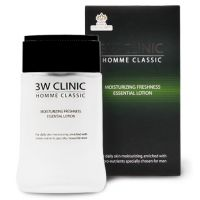 Увлажняющий лосьон для мужчин 3W Clinic Homme Classic Moisturizing Freshness Essential Lotion