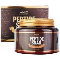 Омолаживающий крем для лица с пептидами и муцином улитки Anjo Professional Peptide Snail Cream 280g