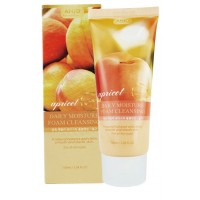 Увлажняющая пенка для умывания с экстрактом абрикоса Anjo Professional, Moisture Foam Cleansing Apricot