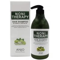 Шампунь для волос оздоравливающий с экстрактом нони Anjo Professional Noni Therapy Shampoo