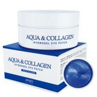 Патчи для глаз с коллагеном и гиалуроновой кислотой Anjo Professional Eye Patch Aqua Collagen