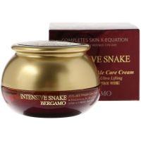 Крем с пептидом интенсивный против морщин Bergamo Intensive Snake Syn-Ake Wrinkle Care Cream