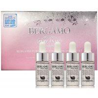 Сыворотка ампульная с муцином улитки осветляющая Bergamo Pure Snail Brightening Ampoule Set