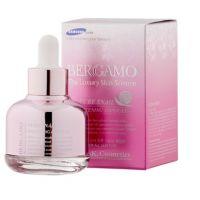 Ампульная сыворотка для лица осветляющая с муцином улитки Bergamo Pure Snail Whitening Ampoule