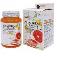 Ампульная сыворотка с витаминами и кислотами AHA и BHA Eco Branch AHA BHA Vitamins All-in-One Ampoule