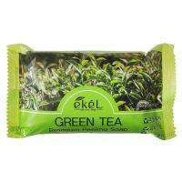 Мыло-скраб для лица и тела Зеленый чай Ekel Premium Peeling Soap Green Tea