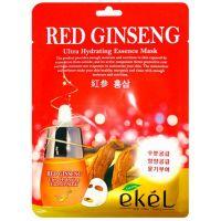 Маска тканевая с экстрактом красного женьшеня Ekel Red Ginseng Ultra Hydrating Essence Mask