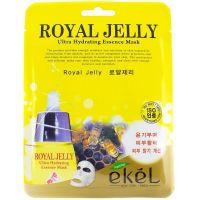 Маска тканевая маточным молочком Ekel Royal Jelly Ultra Hydrating Essence Mask