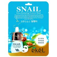 Маска тканевая с улиточным муцином Ekel Snail Ultra Hydrating Essence Mask