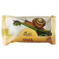 Мыло-скраб для лица и тела Муцин улитки Ekel Premium Peeling Soap Snail