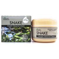 Интенсивный ампульный крем с пептидом змеиного яда Ekel Snake Ampoule Intensive Cream