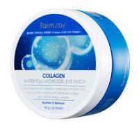 Гидрогелевые патчи коллагеновые увлажняющие Farmstay Collagen Water Full Hydrogel Eye Patch