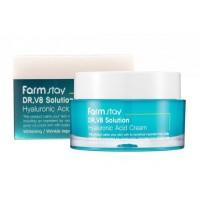 Крем для лица с гиалуроновой кислотой Farmstay DR.V8 Solution Hyaluronic Acid Cream