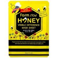 Маска восстанавливающая с прополисом FarmStay Visible Difference Mask Sheet Honey