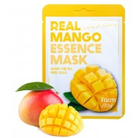Маска для лица тканевая Манго FarmStay Real Essence Mask Mango