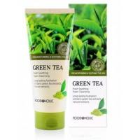 Пенка для умывания с экстрактом зеленого чая Foodaholic Foam Cleansing Green Tea