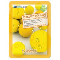 Тканевая маска для лица с коэнзимом Q10 Foodaholic Natural Essence Mask Coenzyme Q10