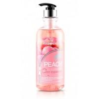 Гель для душа с экстрактом персика Foodaholic Essential Body Cleanser Peach