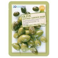 Маска тканевая с экстрактом оливы Foodaholic Natural Essence Mask Olive
