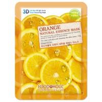 Маска тканевая с экстрактом апельсина Foodaholic Natural Essence Mask Orange