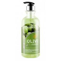 Увлажняющий гель для душа с экстрактом оливы Foodaholic Olive Essential Body Cleanser