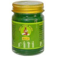 Тайский зеленый бальзам Green Thai Balm Mho Shee Woke