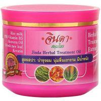 Маска восстанавливающая от выпадения Jinda Herb Herbal Treatment Oil Pink