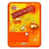 Маска тканевая с коэнзимом Q10 May Island Real Essence Mask Pack Coenzyme Q10
