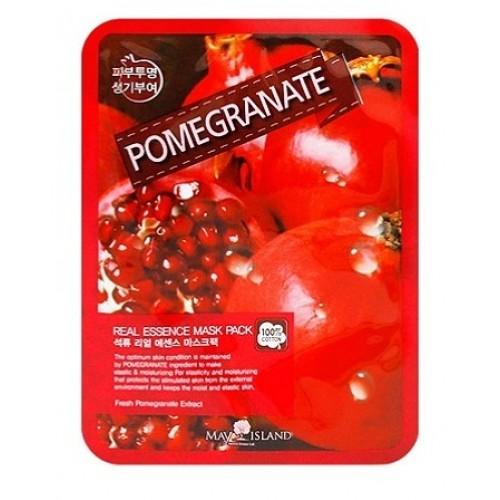 Маска тканевая с экстрактом граната May Island Real Essence Pomegranate Mask Pack