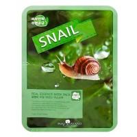 Маска тканевая с муцином улитки May Island Real Essence Mask Pack Snail