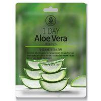 Тканевая маска с экстрактом алоэ Med B. 1 Day Aloe Vera Mask Pack