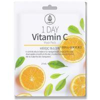 Тканевая маска с витамином С Med B 1 Day Vitamin C Mask Pack