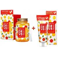 Сыворотка для лица ампульная витаминная 250 мл + Пенка для умывания витаминная