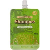 Шампунь с натуральными экстрактами трав 100 мл Our Herb Story Shampoo 100 ml