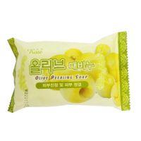 Очищающее мыло - пилинг с экстрактом оливок Rose Olive Peeling Soap