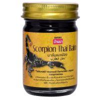 Тайский чёрный бальзам Cкорпион Scorpion Thai Balm Banna