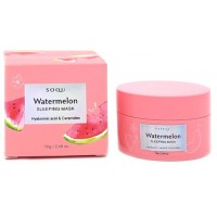 Увлажняющая ночная маска с экстрактом арбуза Soqu Watermelon Sleeping Mask