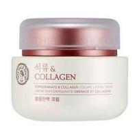 Крем-лифтинг для лица с гранатом и коллагеном The Face Shop Pomegranate Collagen Volume Lifting Cream