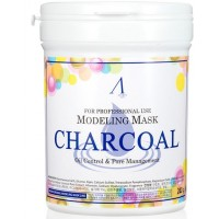 Маска альгинатная для кожи с расширенными порами (банка) Anskin Charcoal Modeling Mask