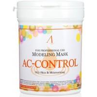 Маска альгинатная для проблемной кожи с акне (банка) Anskin AC Control Modeling Mask